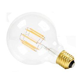 NUD LED Globe clear 125mm