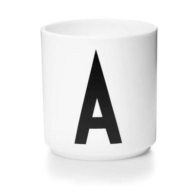 Design Letters Aj porseleinen mok - A