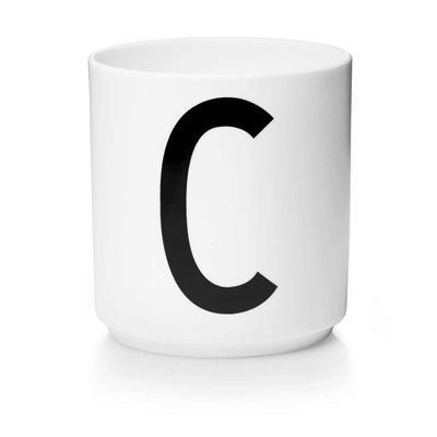 Design Letters Aj porseleinen mok - C