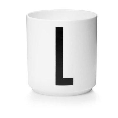 Design Letters Aj porseleinen mok - L