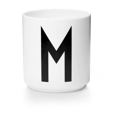 Design Letters Aj porseleinen mok - M
