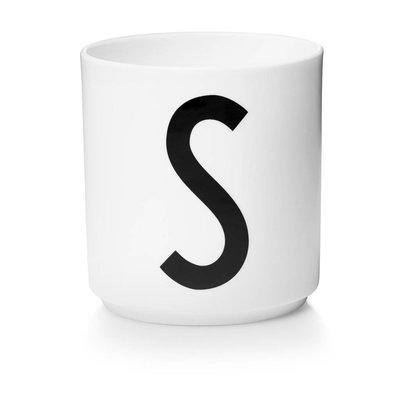 Design Letters Aj porseleinen mok - S