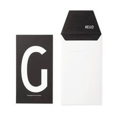 Design Letters Letter kaart - G