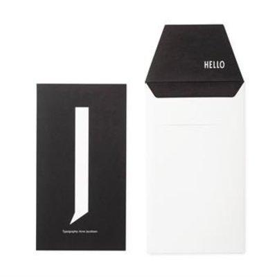 Design Letters Letter kaart - J