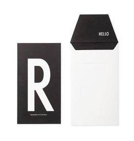 Design Letters Letter kaart - R