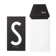 Design Letters Letter kaart - S