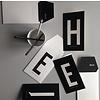 Design Letters Letter kaart - X