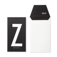 Design Letters Letter kaart - Z