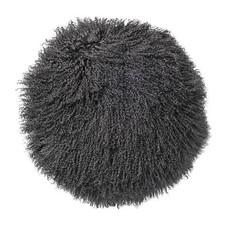 Bloomingville Kussen schapenvacht grijs