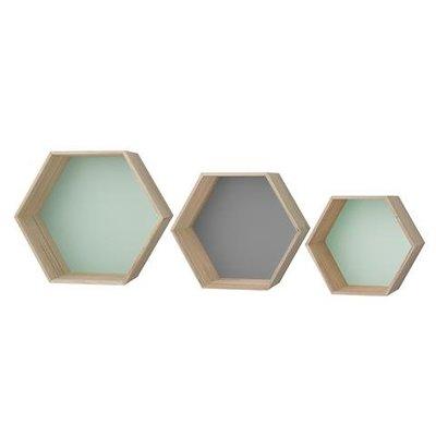 Bloomingville Display hexa