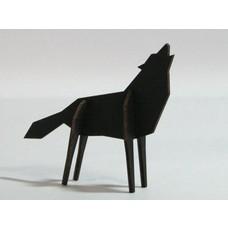 Atelier Pierre Nordic puzzel Wolf Large Black