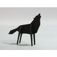 Atelier Pierre Nordic puzzel Wolf Medium Black
