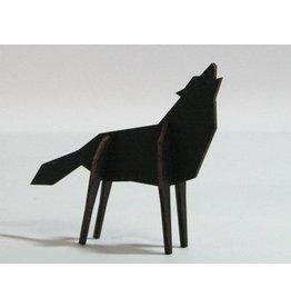 Atelier Pierre Nordic puzzel Wolf Small Black