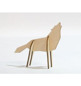 Atelier Pierre Nordic puzzel Wolf Small