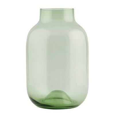 House Doctor Vaas glas groen