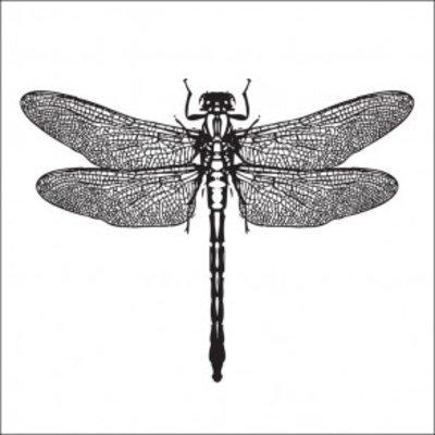 Tile Junkie Tegelsticker dragonfly