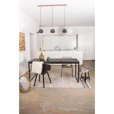 PURE Wood Design Nordland Industriele tafel van chipwood
