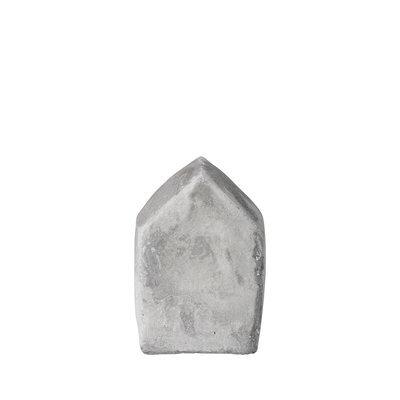 Bloomingville Huisje beton grijs S