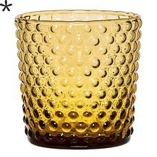 Bloomingville Waxinelichthouder amber