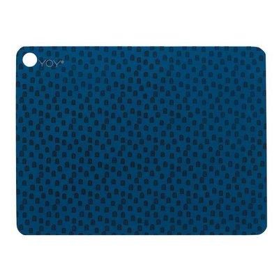 OYOY placemats - Muni Blauw