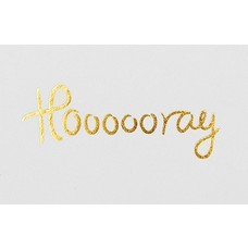"I Love My Type ""Hoooooray"" mini message cards"