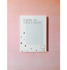 Gewoon JIP Scheurboekje, blauw - postkaarten