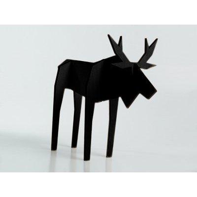 Atelier Pierre Nordic houten puzzel eland zwart small