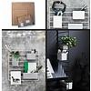 String Furniture: wandrekken & modulair kastensysteem | Nordic Living Grid for wall Black