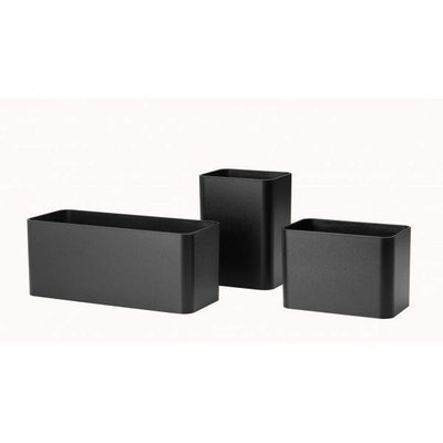 String Furniture: wandrekken & modulair kastensysteem   Nordic Living Organizers Black