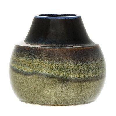 Bloomingville Groene vaas, aardewerk