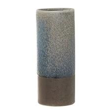 Bloomingville Vaas blauw aardewerk