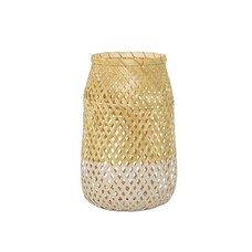 Bloomingville Lantaarn Bamboo/roze
