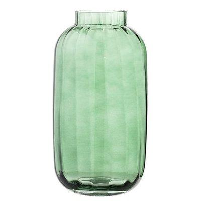 Bloomingville Vaas Green Glass