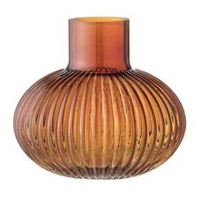 Bloomingville Glazen vaas Orange