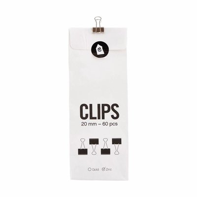 House Doctor Clips Office Zink 20mm