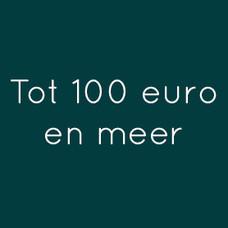 Cadeaus tot 100 euro en meer