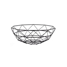 pt,  Basket Diamond Cut large iron black