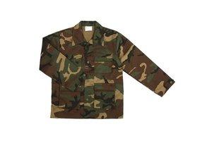 Kinder  jas camouflage BDU