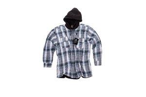 Thermo shirt met fleece voering en capouchon