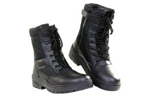 Pr. sniper boots met rits zwart