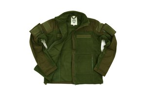 Combat fleece vest groen