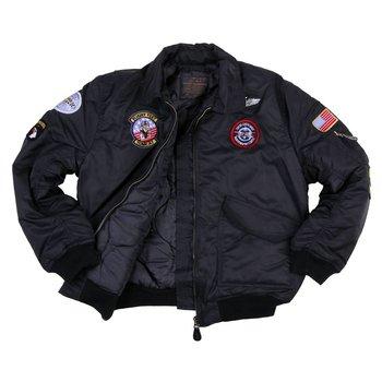 Kinder CWU flight jacket zwart