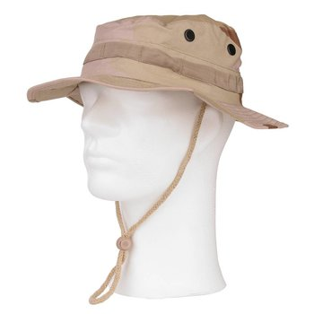 Bush hoed de luxe ripstop desert