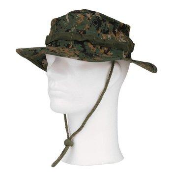 Bush hoed de luxe ripstop digital camo
