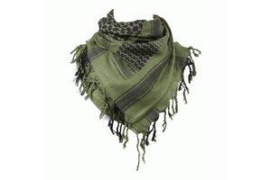 PLO sjaal groen/zwart