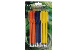 "MK-PL-3C plastic pijl 6,5"" kleur (12 stuks)"