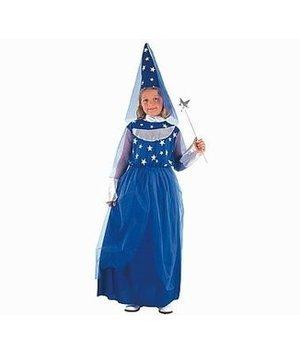 Magicoo Blauwe feeenjurk kind