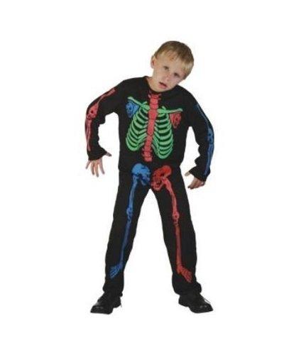 Magicoo Skelet kostuum kinderen