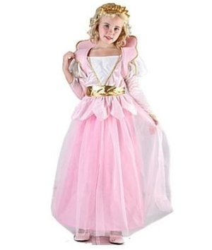 Magicoo Roze prinsessen jurk kinderen