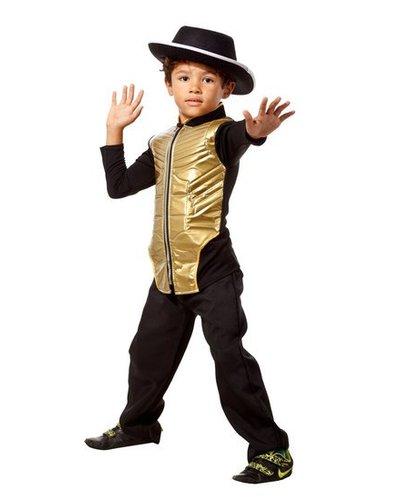 Magicoo Michael Jackson kostuum goud